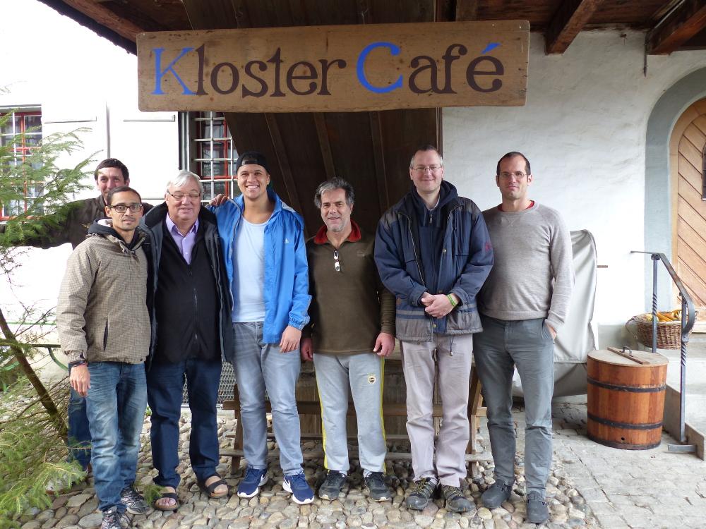 Besuch von Fazenda Gründer Frei Hans Stapel