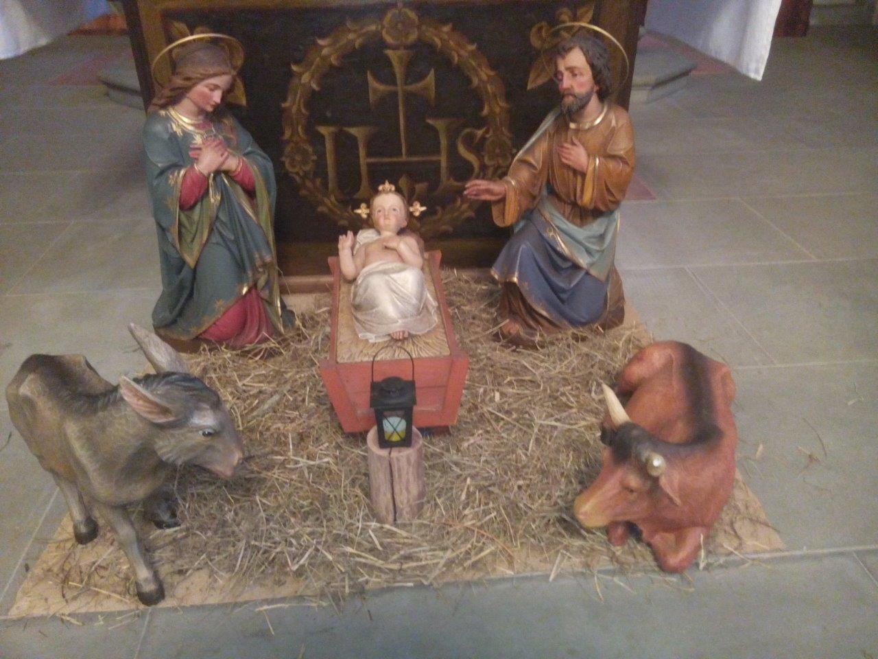 Krippe in der Klosterkirche